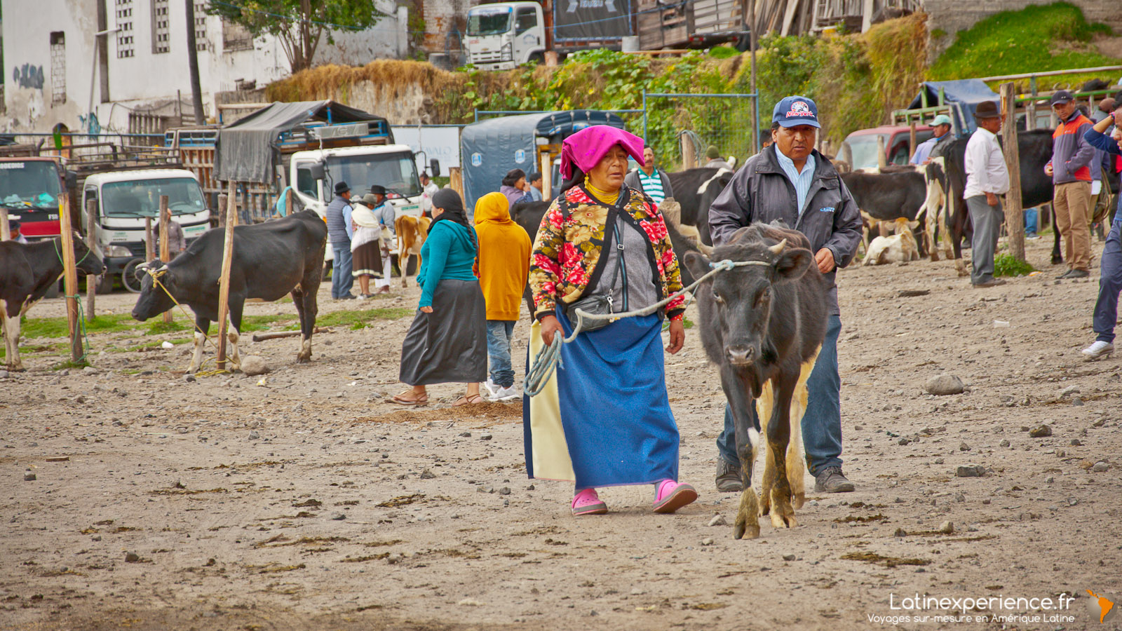 Equateur - Otavalo - Woman - Latinexperience voyages
