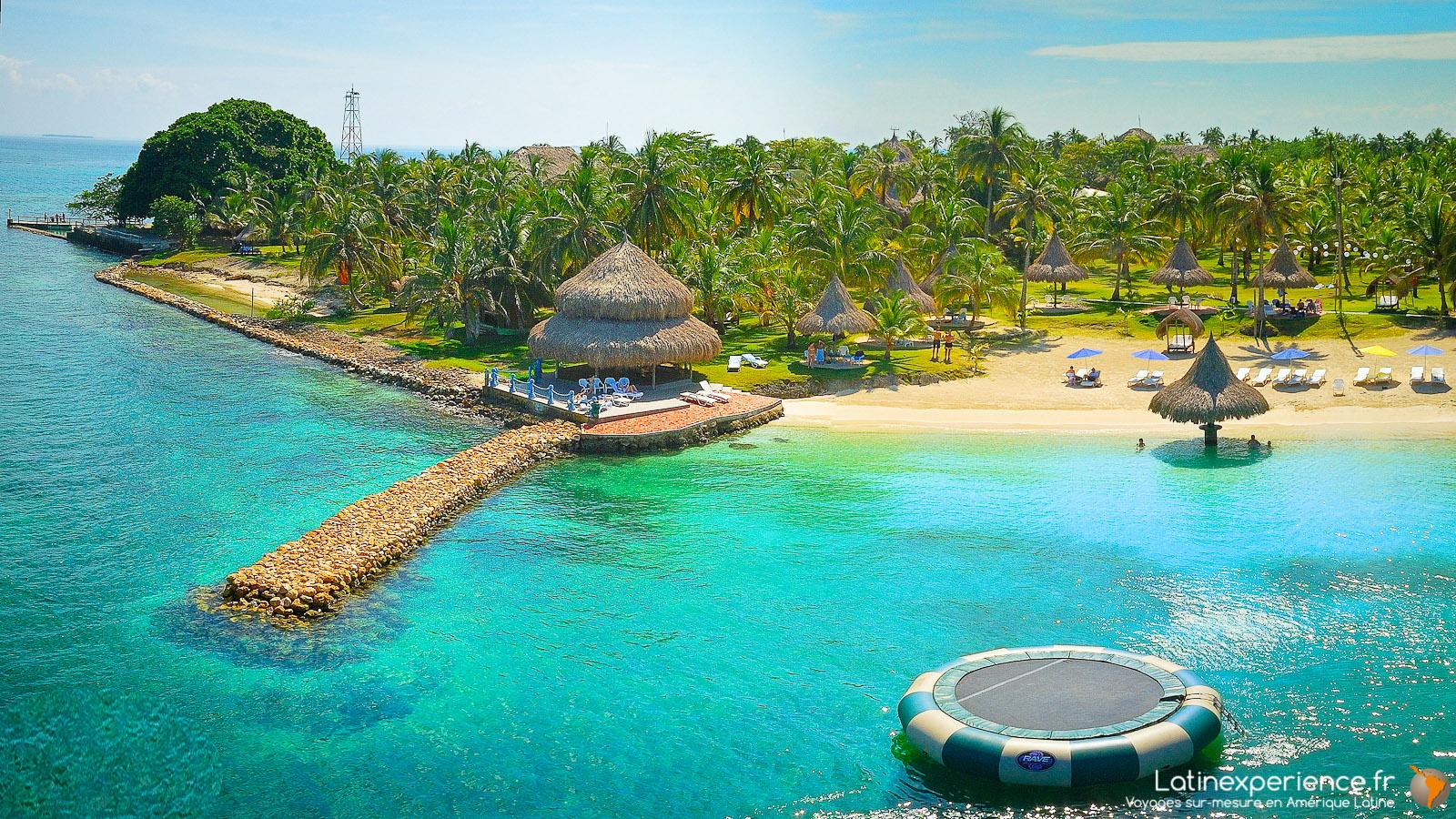 Colombie - île de Mucura - Voyage de noël