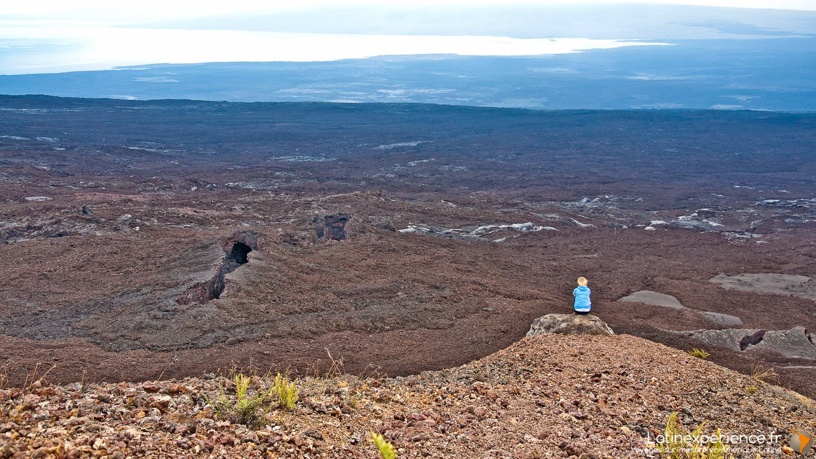Galapagos - Vue volcan Chico - Latinexperience voyages