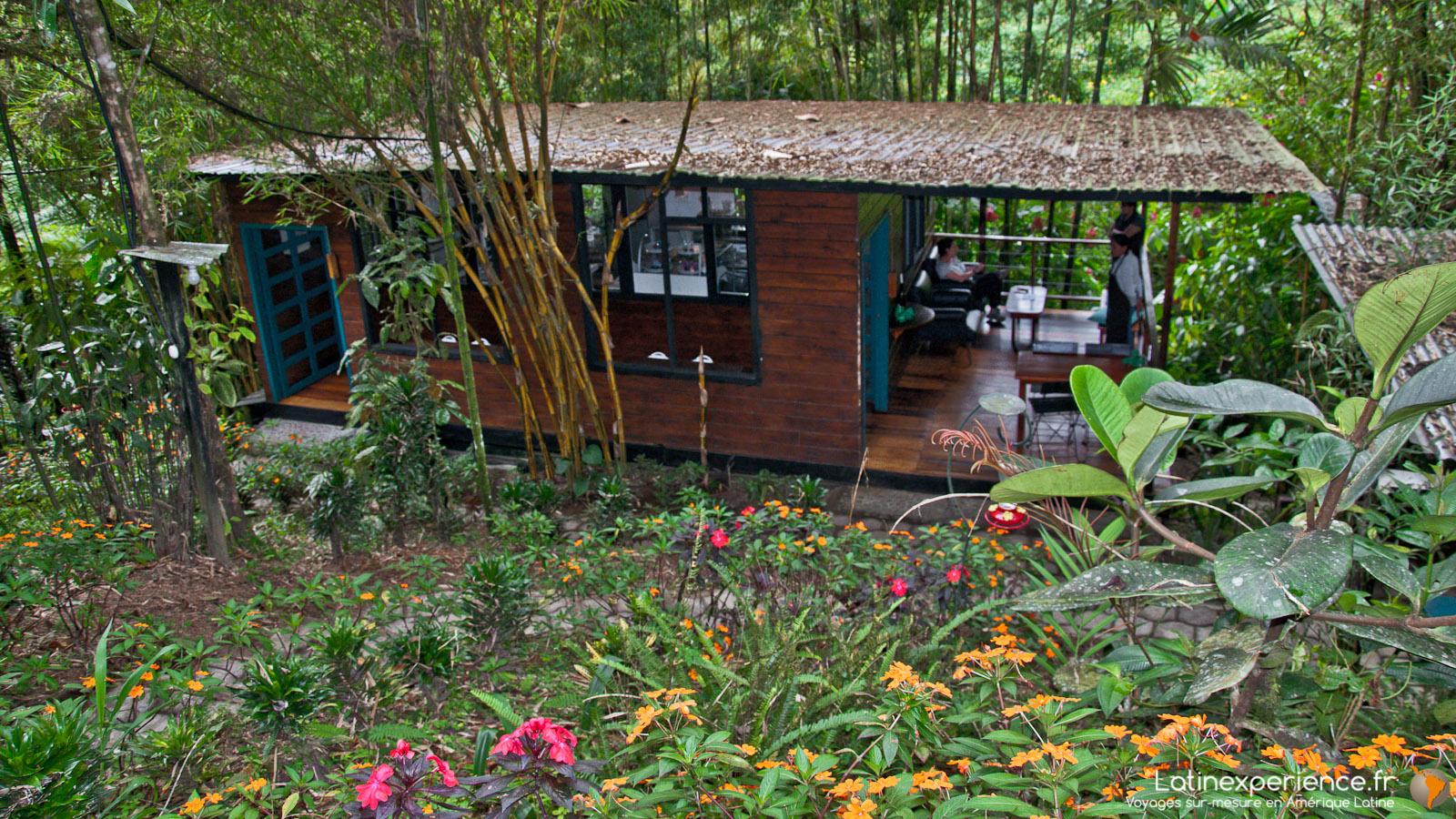 Equateur - Mindo - Septimo paraiso Xcolat - Latinexperience voyages