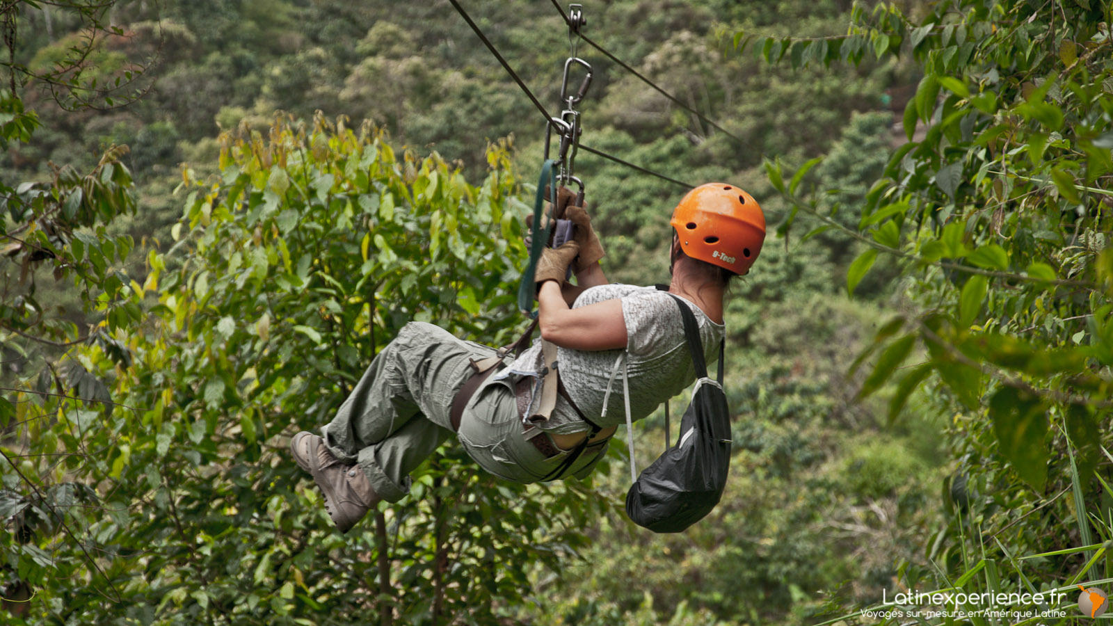Equateur - Mindo Canopy Adventures - Zipline - Latinexperience voyages