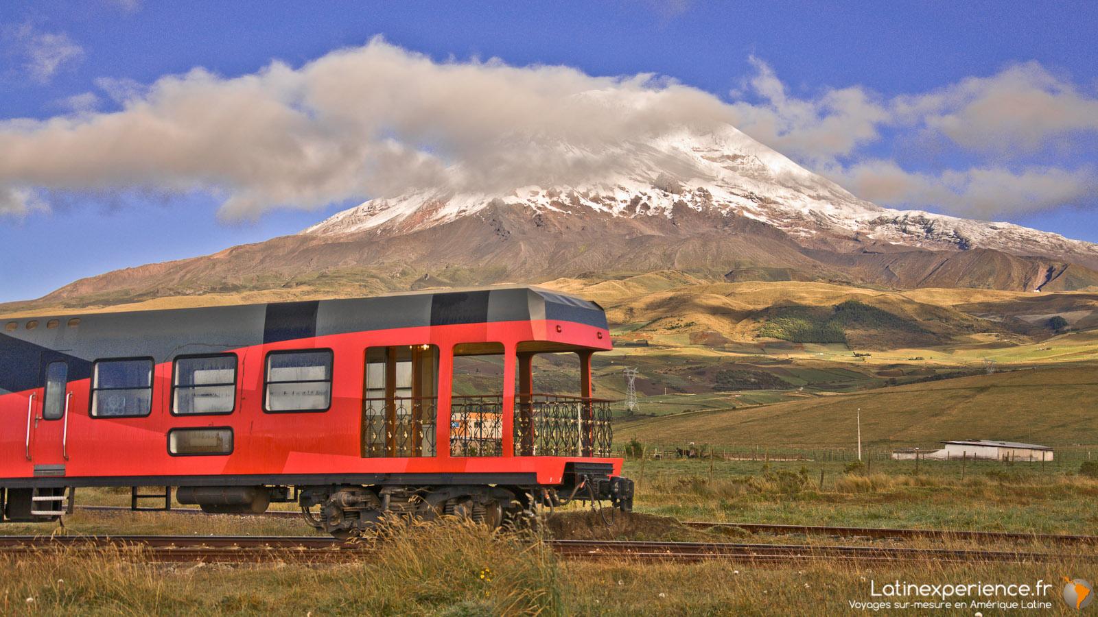 Equateur - Volcan Chimborazo