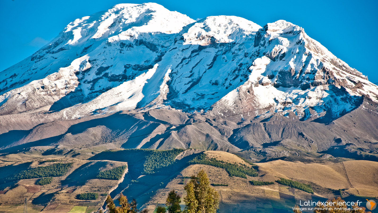 Equateur - Voyage en train -Volcan Chimborazo - Latinexperience