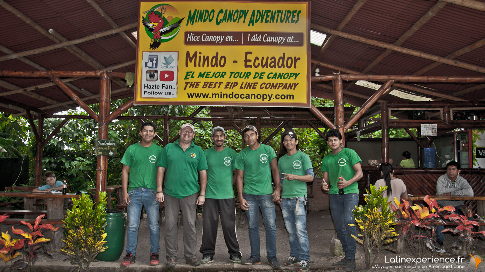 Equateur - Mindo Canopy Adventures - Latinexperience voyages