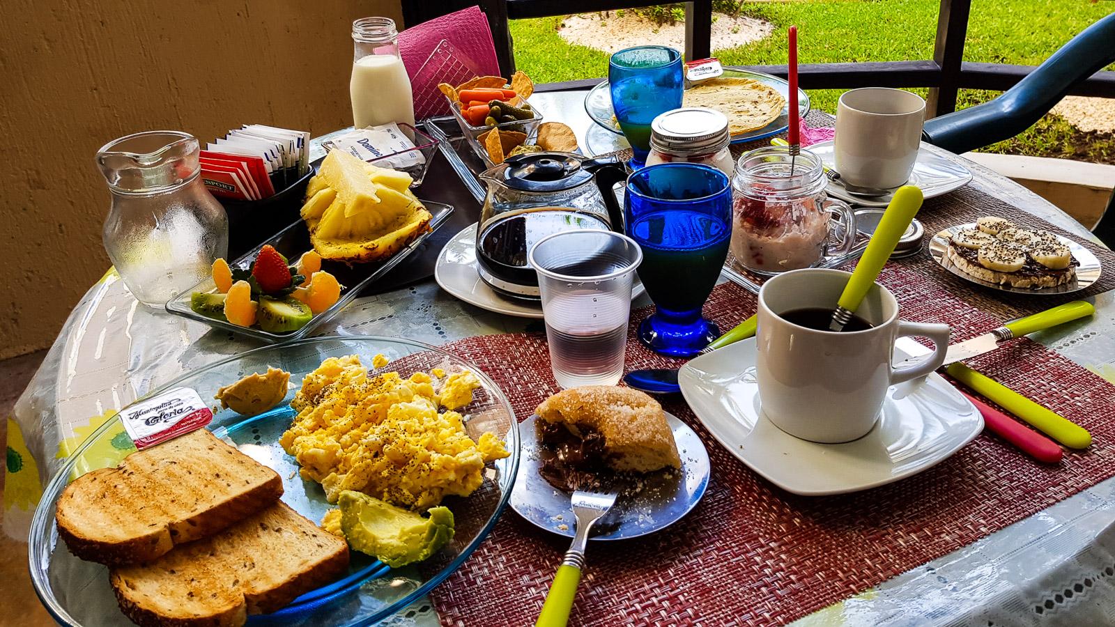mexique - Playa Del Carmen - Petit déjeuner - Latinexperience