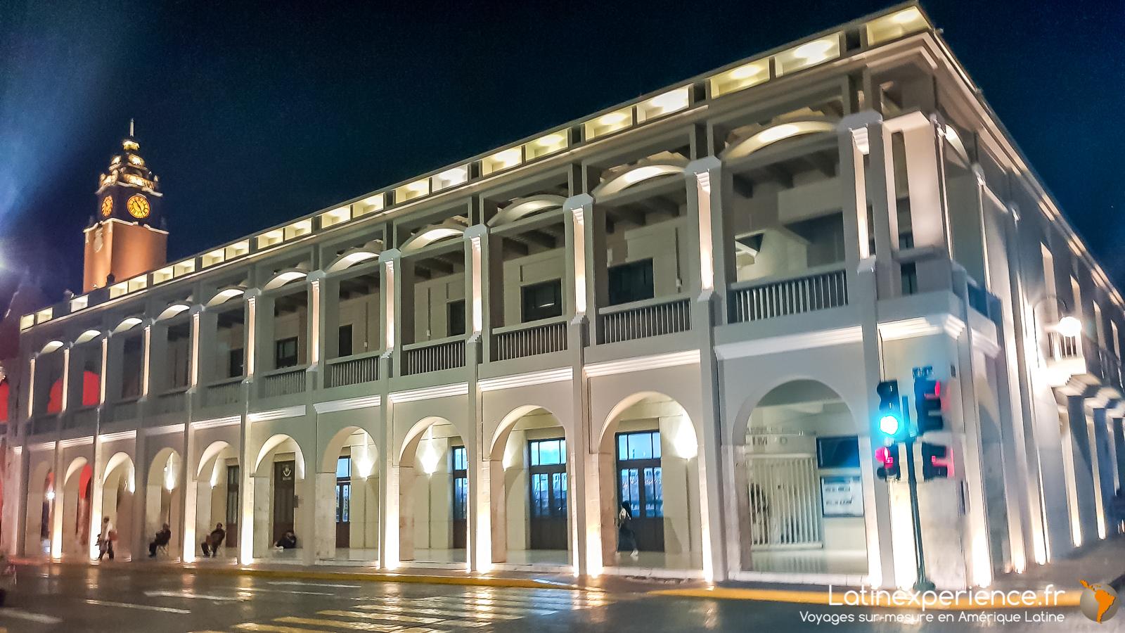Mexique - Yucatan - batiment colonial - Mérida - Latinexperience voyages