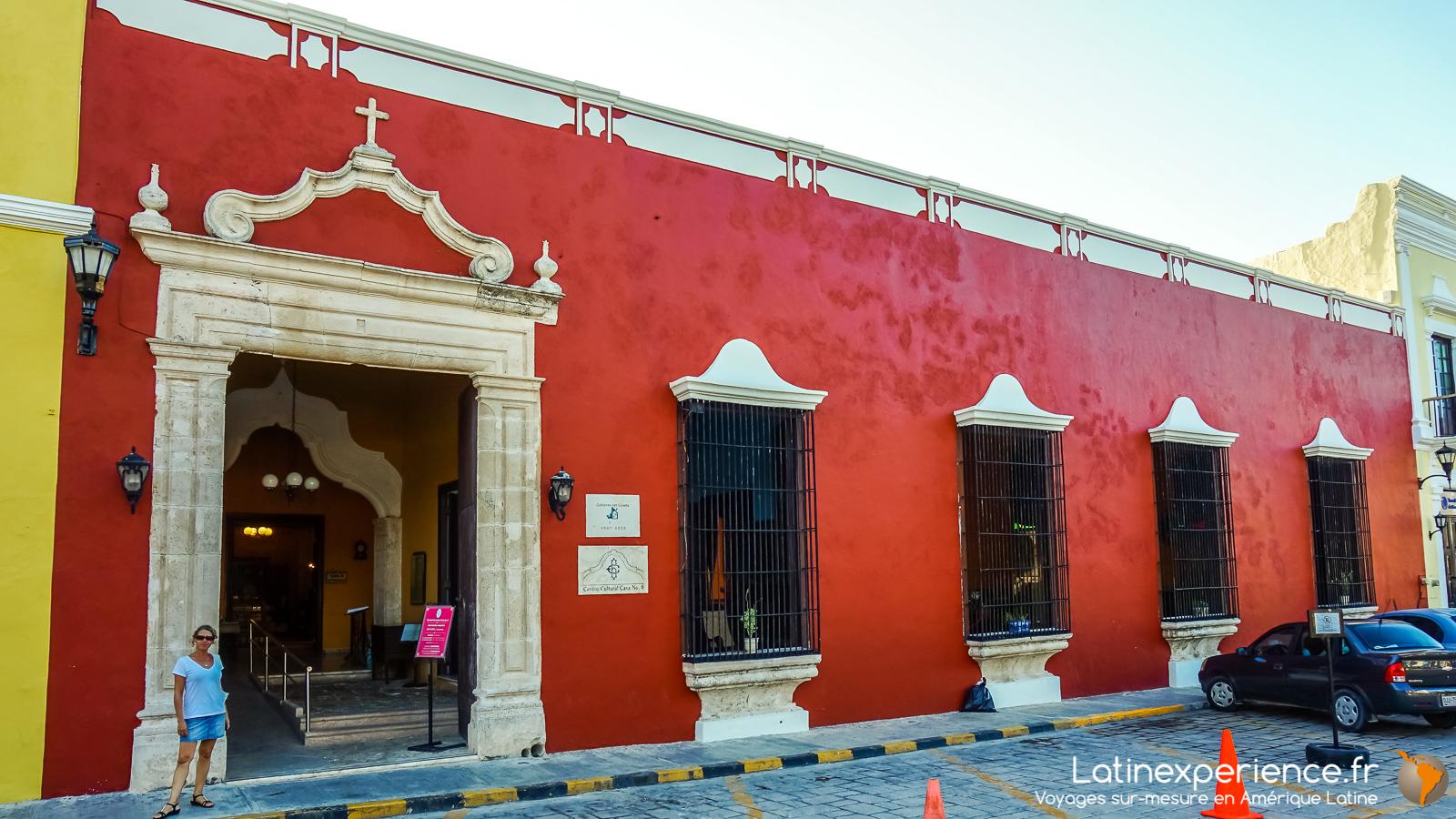 Mexique - Yucatan - centre culturel - Campeche - Latinexperience voyages