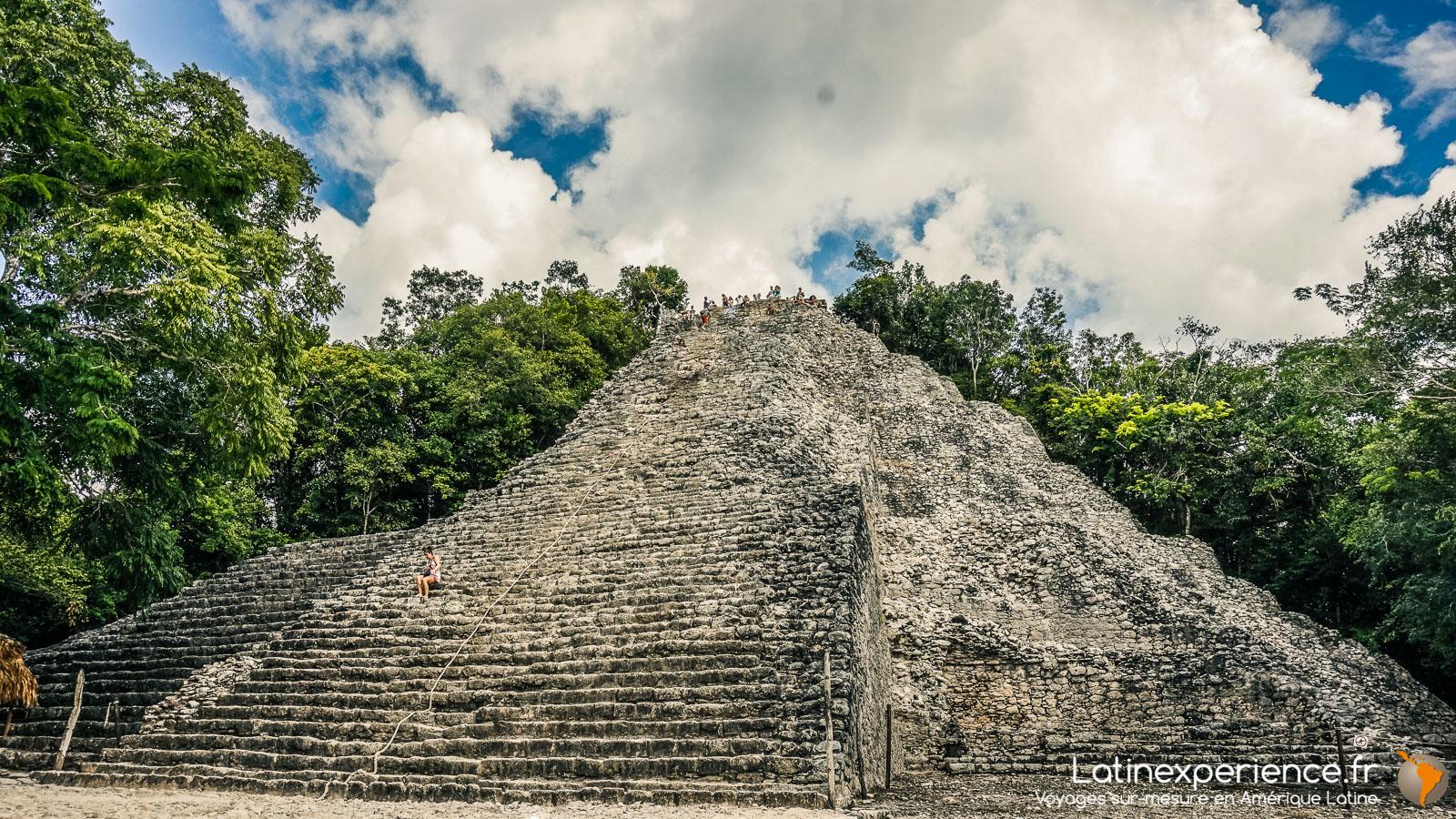 Mexique - site de Koba - Grande pyramide - Latinexperience voyages