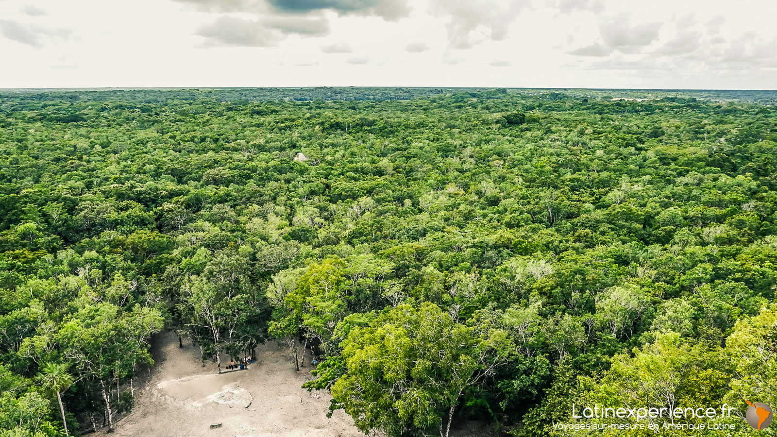 Mexique - site de Koba - Vue de la grande pyramide - Latinexperience voyages