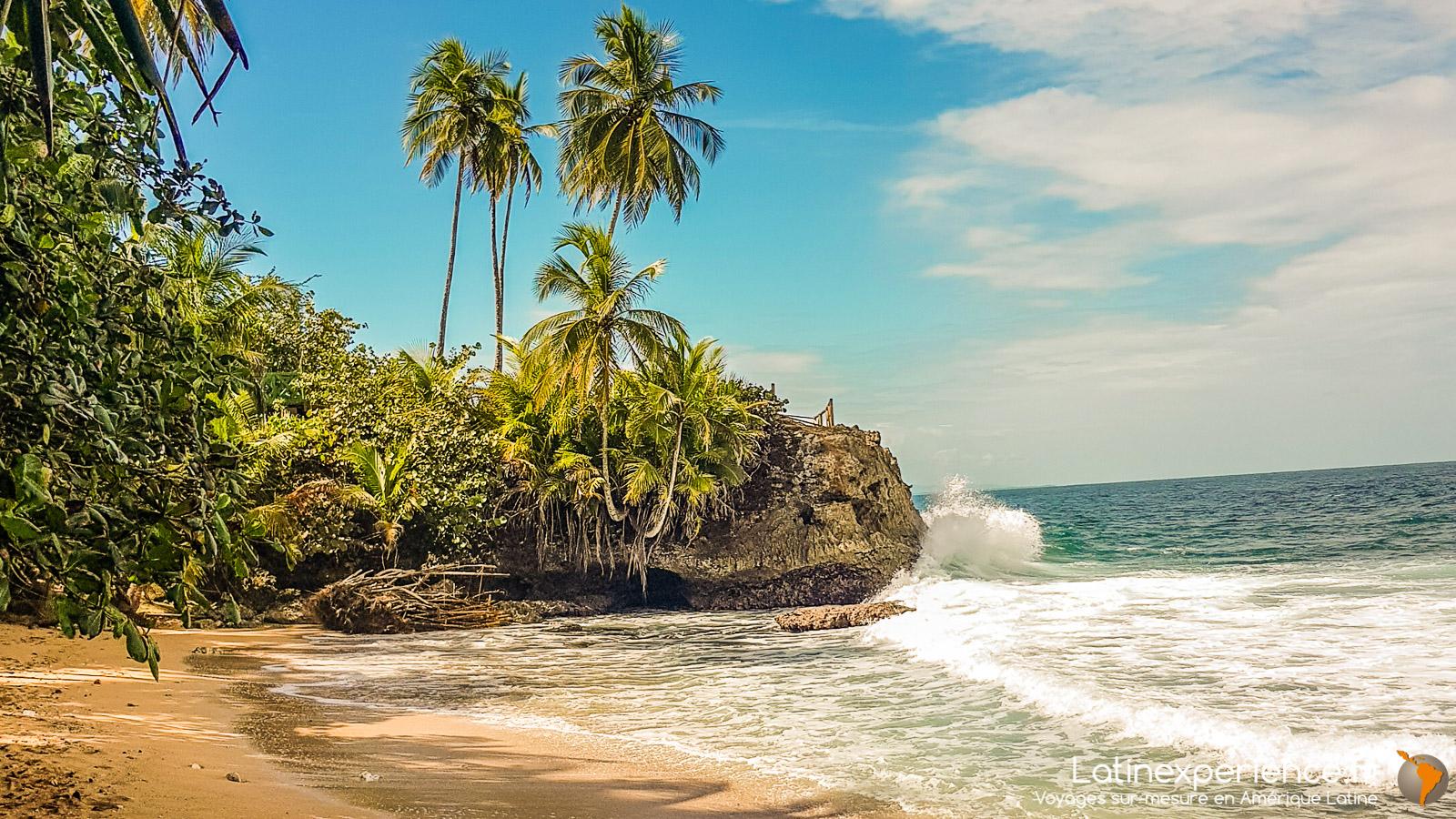 costa Rica - Plage du Parc de Cahuita - Latinexperience voyages