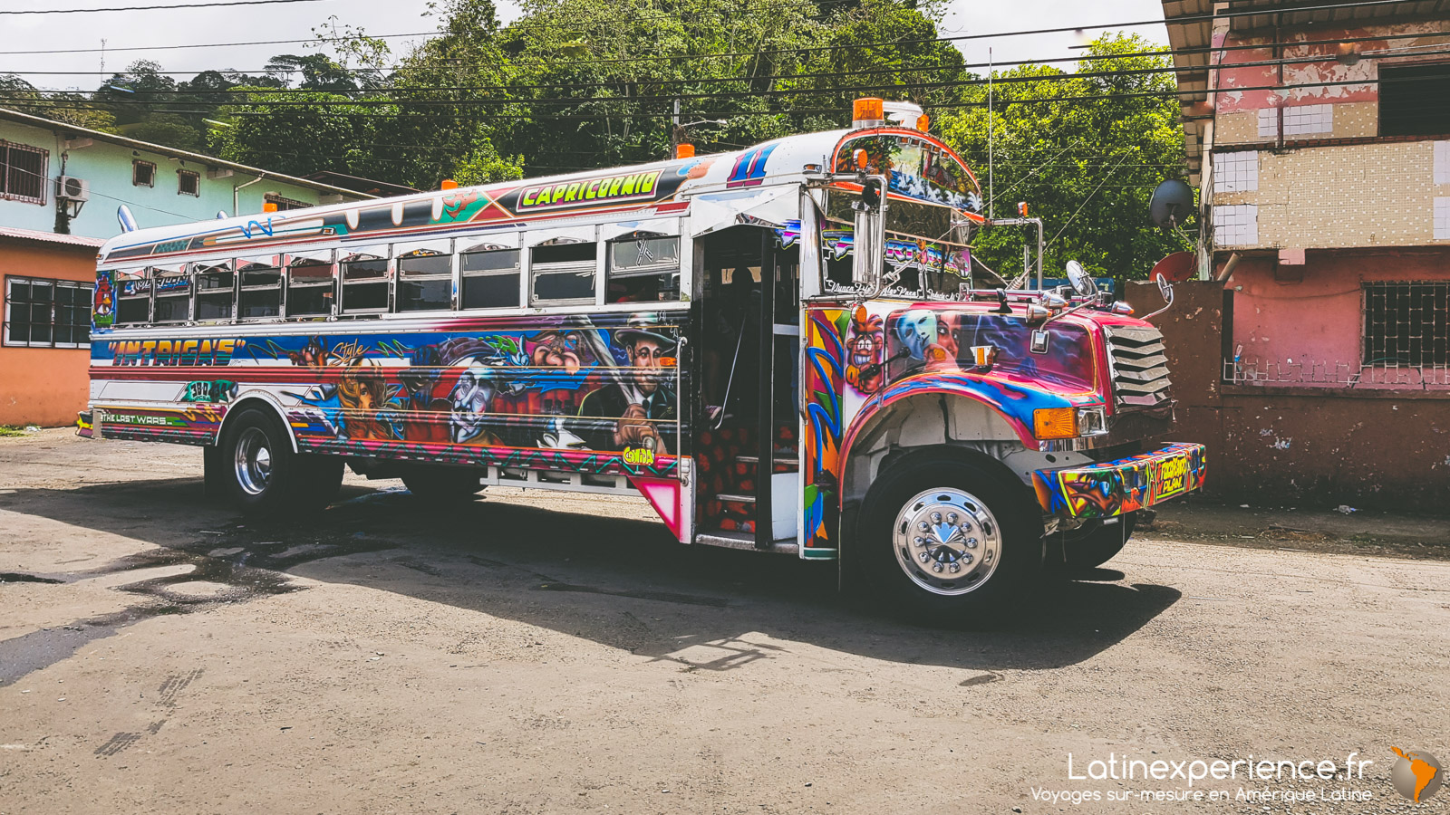 panama - Colon - Bus -Latinexperience voyages