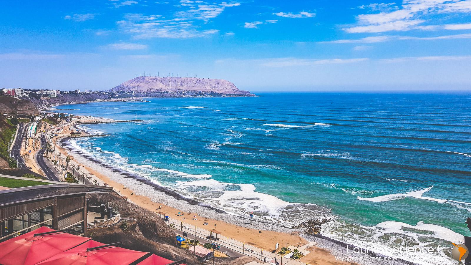 Pérou - falaise de Miraflores - Latinexperience voyages