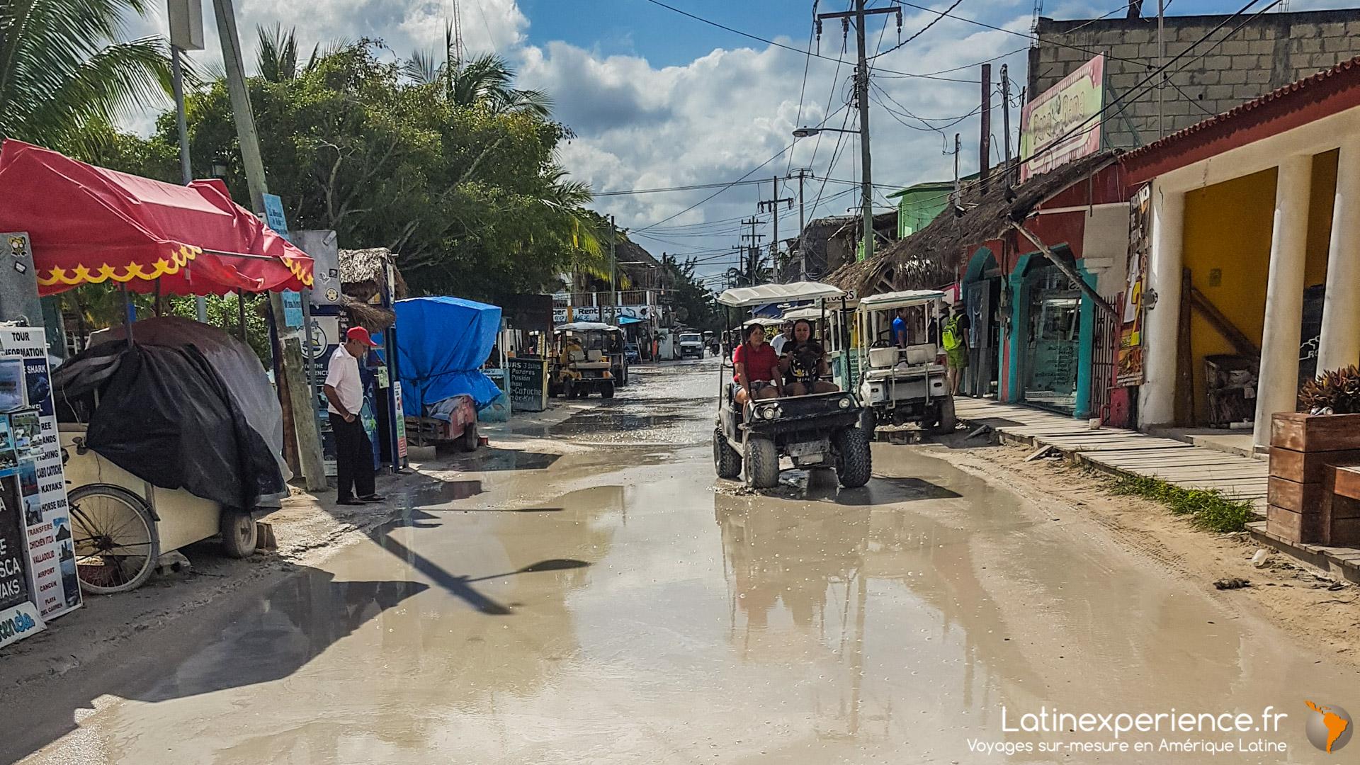 Séjour Mexique - Holbox - Ruelle - Latinexperience voyages