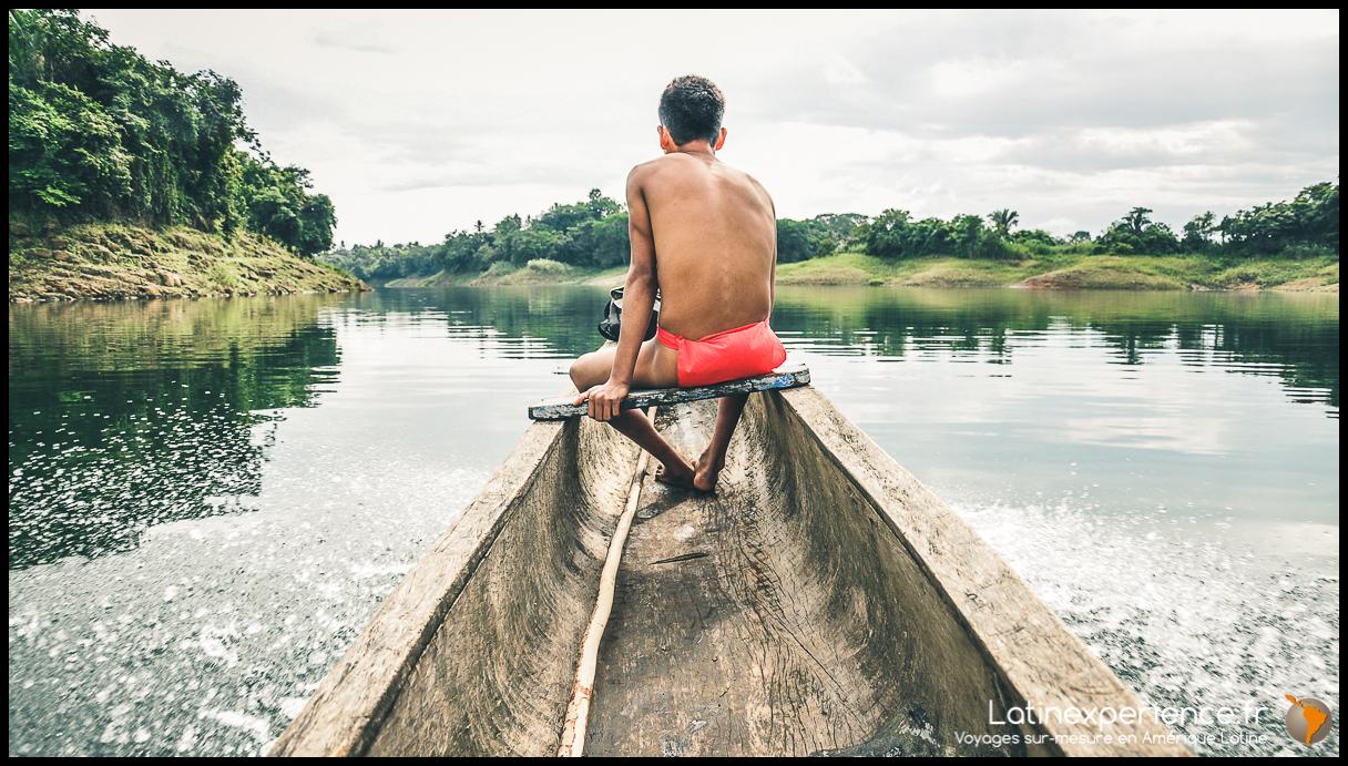 Panama - Tribu Emberas - Latinexperience voyages