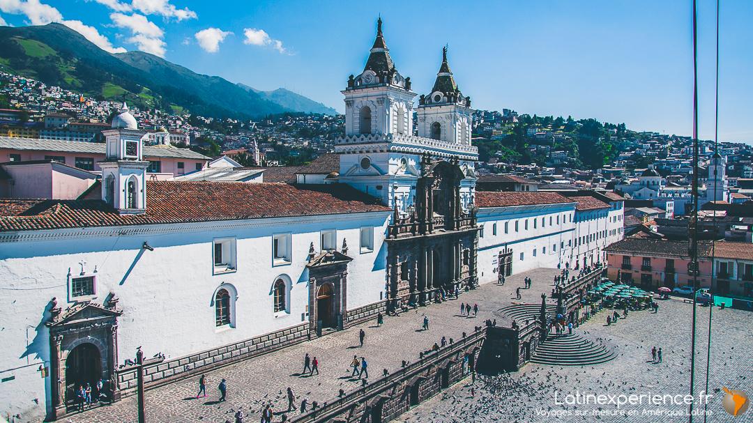 Equateur - Quito - Casa Gangotena Hôtel Boutique