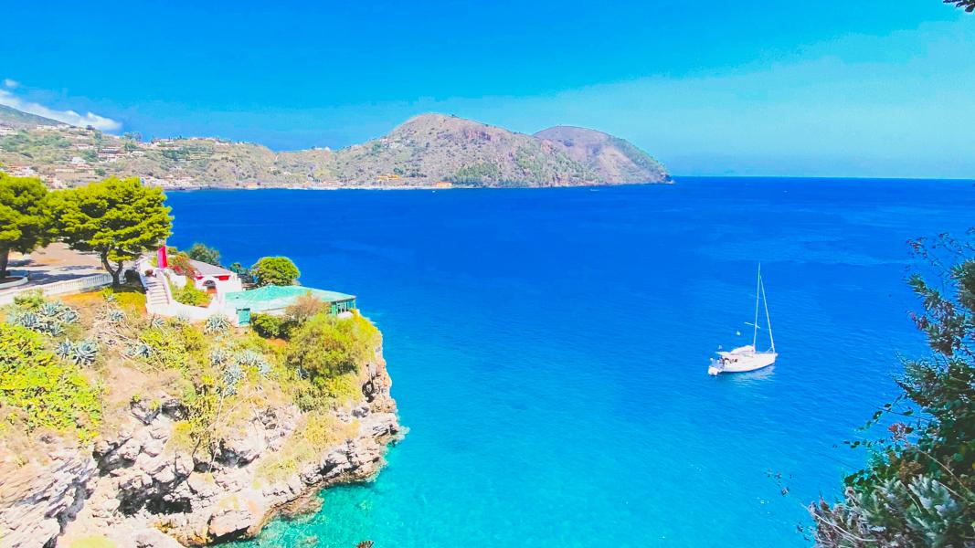 Slow Tourisme en voilier - Lipari - Latinexperience voyage